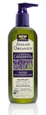 ลด 30 % AVALON ORGANICS :: Lavender Luminosity - Facial Cleansing Gel เจลล้างหน้าขจัดสิ่งสกปรกและเซลล์ผิวที่ตายแล้ว เผยผิวขาวใส