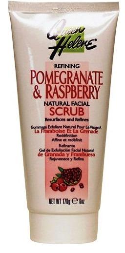 ลด 23 % QUEEN HELENE :: Pomegranate and Raspberry Natural Facial Scrub สครับอ่อนโยนด้วยคุณค่าของผลทับทิม และราสเบอรี่