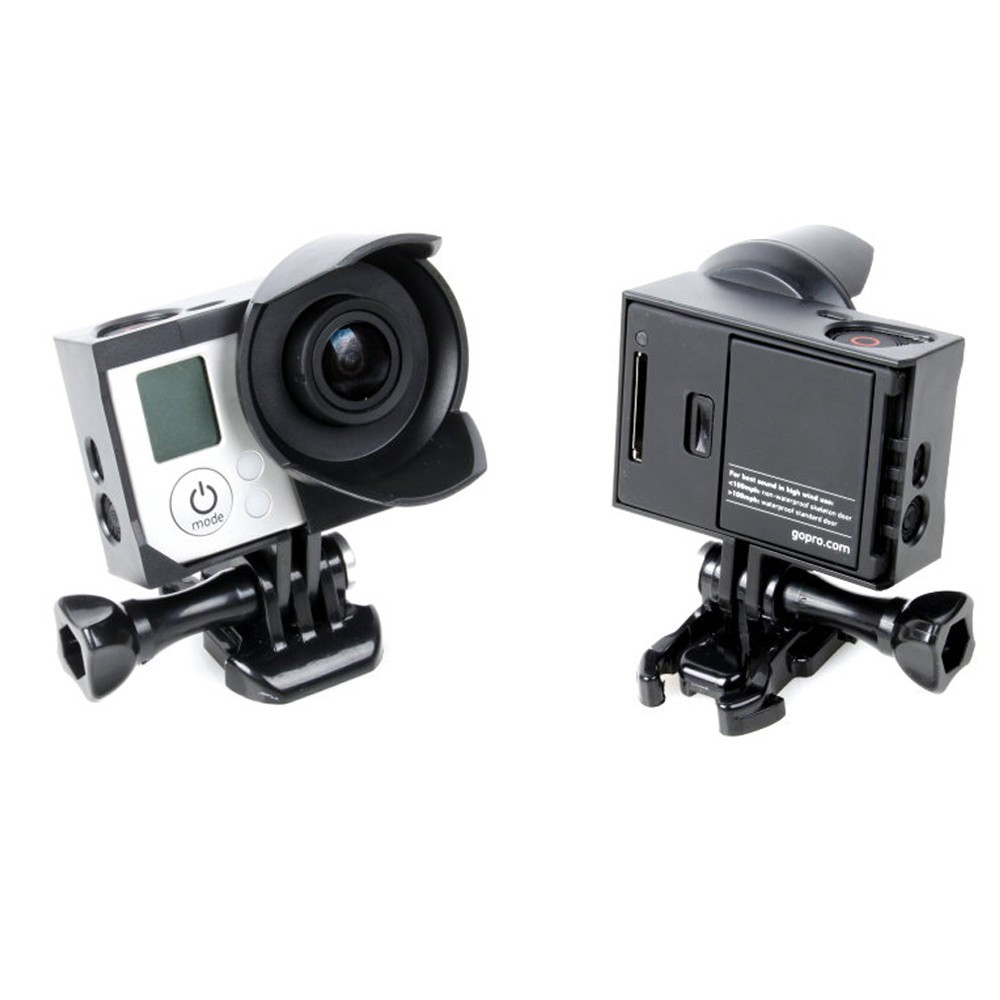 1325 - Tripod Cradle Sunshade Housing กล้อง GoPro Hero4,Hero 3+,Hero3