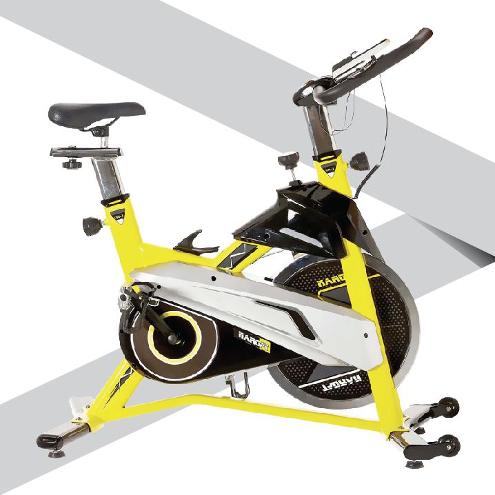 จักรยานออกกำลังกายรุ่น S6 SpinBike 18Kg
