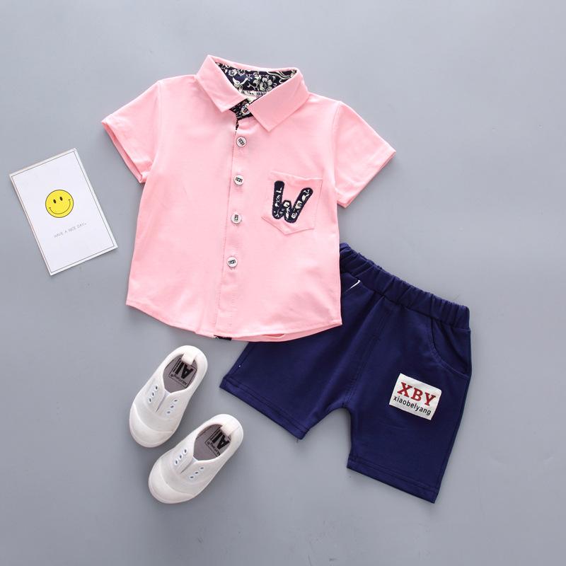 **ชุดเซ็ตกางเกงขาสั้นเสื้อ W สีชมพู ตามรูป size 6-8-10-12 (4pcs/pack) | 4ตัว/แพ๊ค | เฉลี่ย 180/ตัว