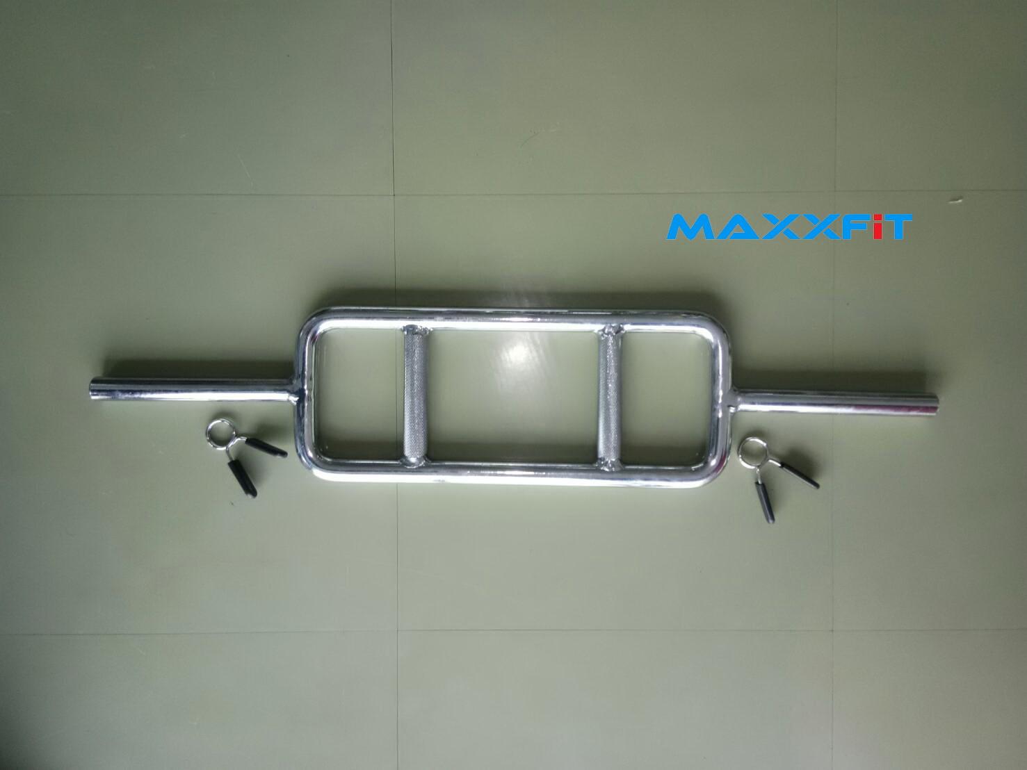 MAXXFiT Hammer Barbell แบบคลิปล็อคสปริง ขาย Tricep Bar แกน 1 นิ้ว
