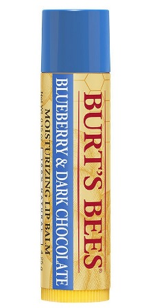 Burt's Bees Revitalizing Lip Balm with Blueberry and Dark Chocolate