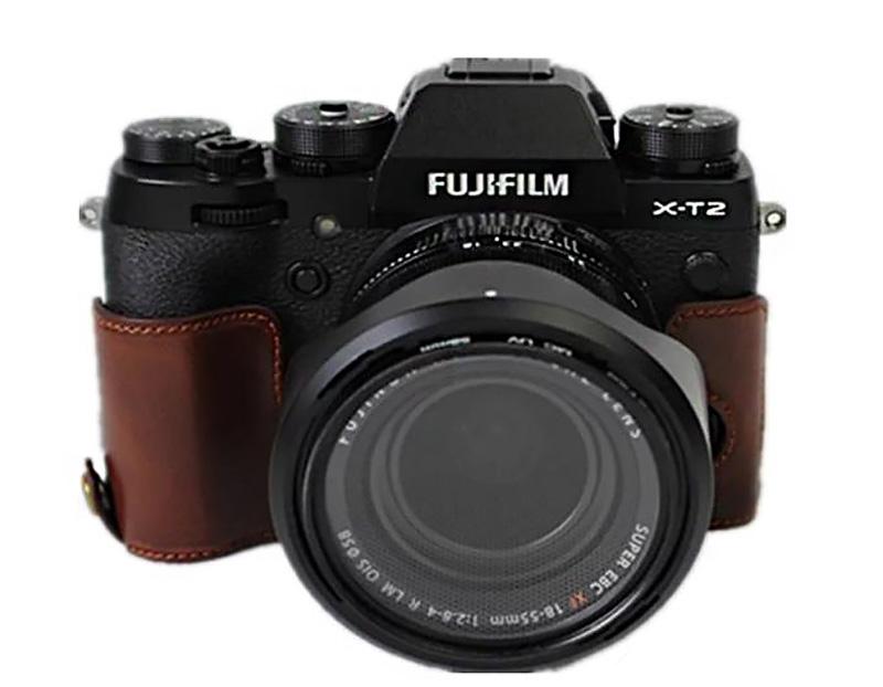 Half Case หนัง สำหรับกล้อง FUJI X-T2
