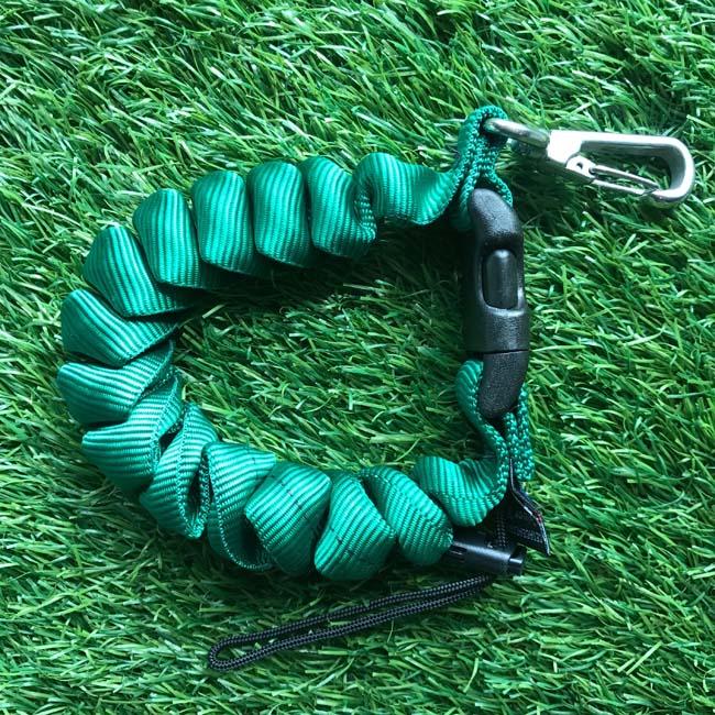 Cetacea Housing Heavy Duty Coiled Lanyard Green สีเขียว