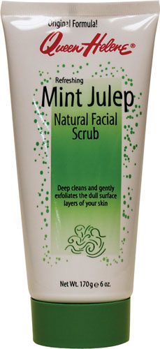 QUEEN HELENE Mint Julep Natural Facial Scrub