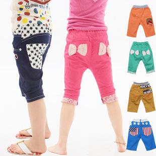 **กางเกงขาสั้นเด็กหญิง | เขียว | 100-140 | 5ตัว/แพ๊ค | เฉลี่ย 190/ตัว