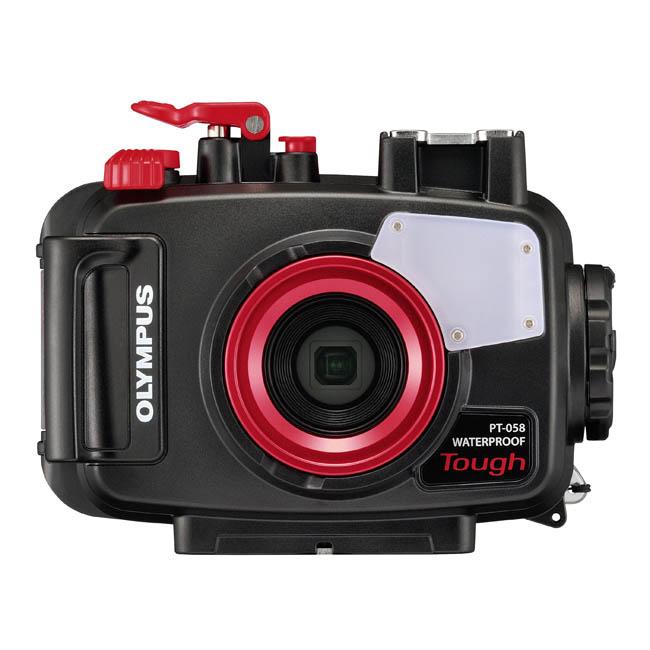 Olympus PT-058 Underwater Housing สำหรับกล้อง Olympus Tough TG5 Camera กันน้ำลึก 45เมตร
