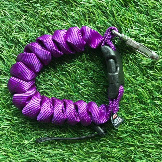Cetacea Housing Heavy Duty Coiled Lanyard Purple สีม่วง