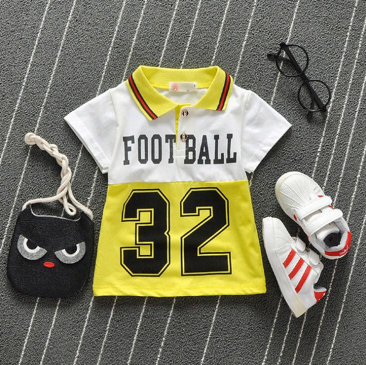 **เสื้อโปโล 32   เหลือง  S-XL   4ตัว/แพ๊ค   เฉลี่ย 125/ตัว