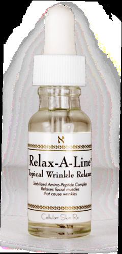 ลด 23 % CELLULAR SKIN RX :: Relax-A-Line Topical Serum เซรั่มเข้มข้น ลดริ้วรอย ร่องตื้น หนึงในสินค้าขายดีของแบรนด์