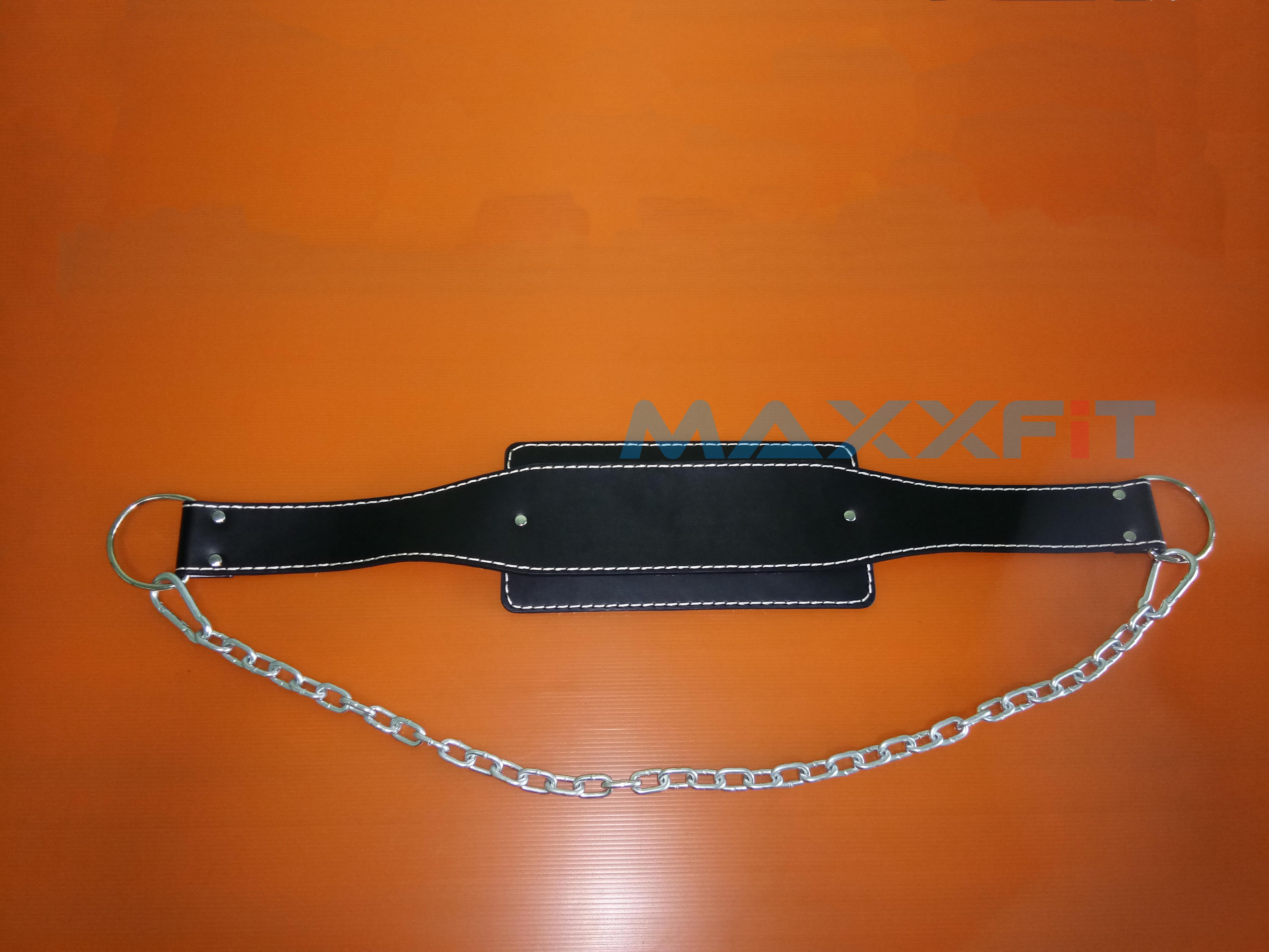 ขาย เข็มขัดหนังสำหรับถ่วงน้ำหนักตัว Leather Dip Belt