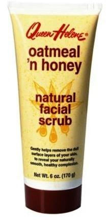 ลด 23 % QUEEN HELENE :: Oatmeal 'n Honey Natural Facial Scrub สครับผิวให้เนียนนุ่ม ด้วยคุณค่าของข้าวโอ๊ตและน้ำผึ้ง