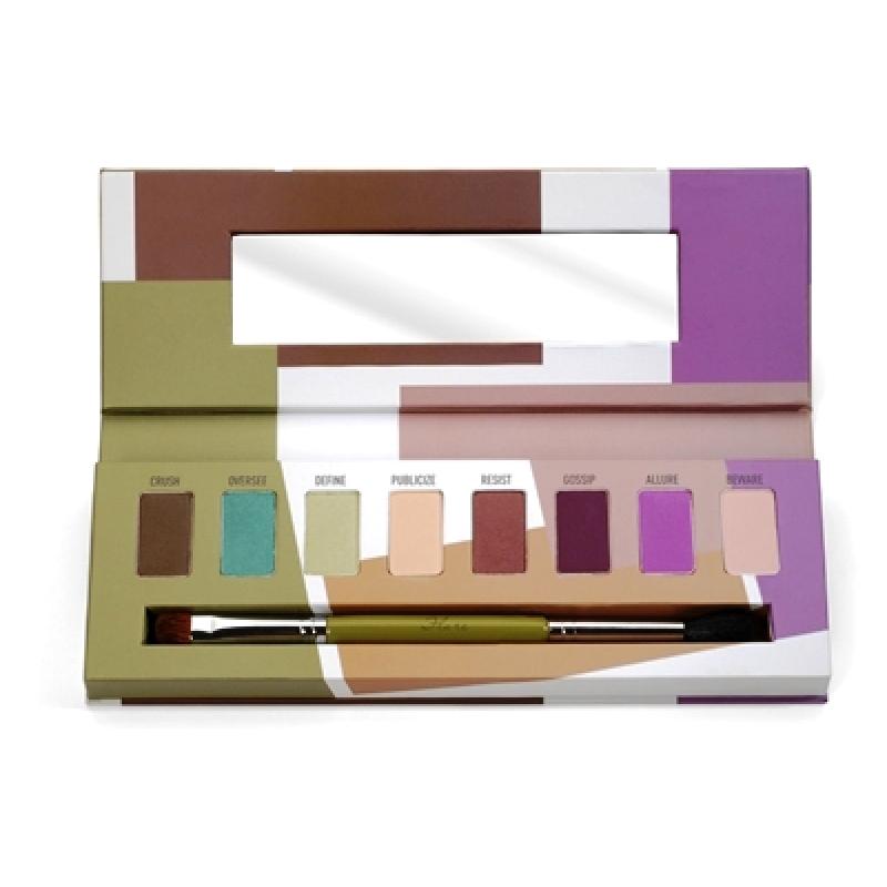 ลด 21 % SIGMA :: Eye Shadow Palette - Flare พาเลทท์โทนสดใส มี 8 เฉดสี พร้อมแปรง 2 ทิศทาง ดูเฉดสีด้านใน
