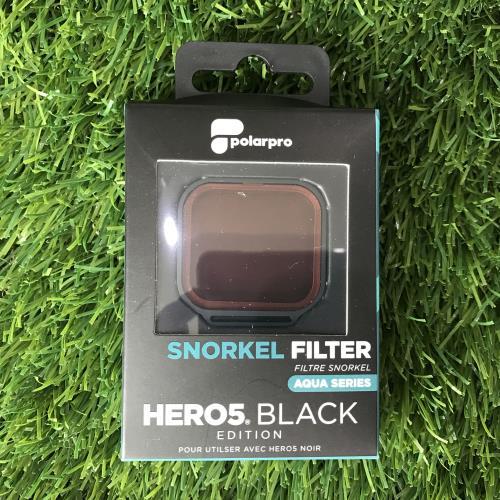 POLARPRO SNORKEL FILTER สำหรับกล้อง GOPRO HERO5 BLACK - ฟิลเตอร์ดำน้ำตื้นสำหรับแก้ไขสีใต้น้ำ 2 to 25 feet