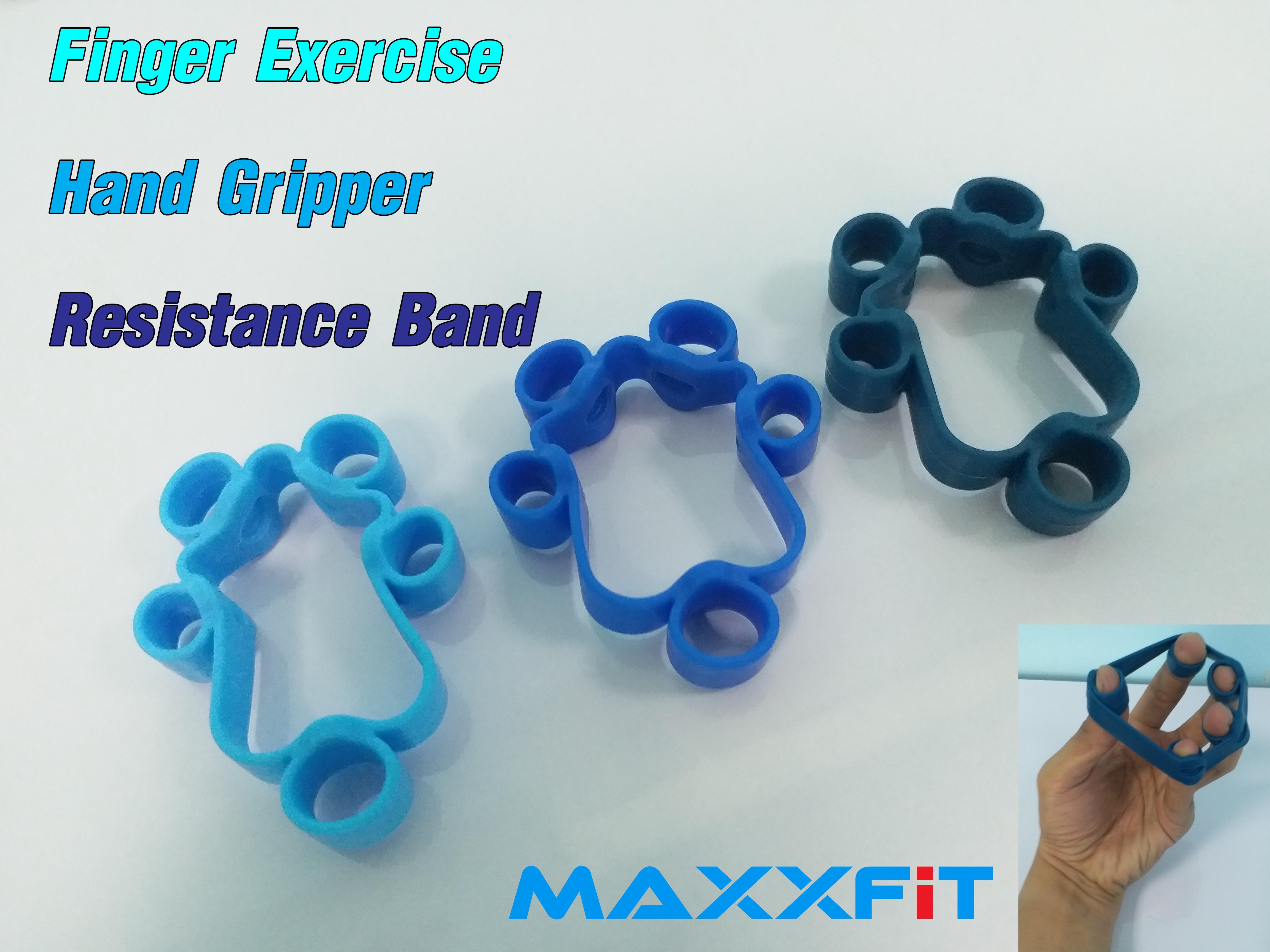 ขาย Finger Exercise Hand Gripper Resistance Band
