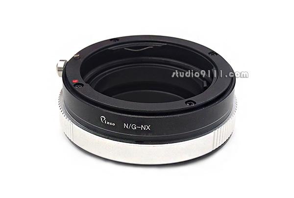 อแดปเตอร์แปลงท้ายเลนส์ NIKON G ใช้กับ SAMSUNG NX