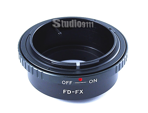 อแดปเตอร์แปลงท้ายเลนส์ CANON FD ใช้กับกล้อง FUJI X