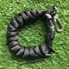CRL3HD-BLK Cetacea Housing Heavy Duty Coiled Lanyard Black สีดำ