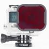 P1001 Polar Pro Red Filter ดำน้ำลึก Scuba Diving สำหรับกล้อง GoPro Hero4,Hero3+