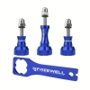 Freewell Thumb knob & Wrench tool Aluminium สีน้ำเงิน