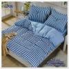 ผ้าปูที่นอนสไตล์โมเดิร์น เกรด A ขนาด 5 ฟุต(5ชิ้น)[AS-078]