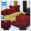 ผ้าปูที่นอนสีพื้น เกรด A สีอิฐเข้ม ขนาด 5 ฟุต 5 ชิ้น