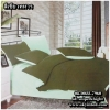 ผ้าปูที่นอนสีพื้น เกรด A สีเขียวทหาร ขนาด 6 ฟุต 5 ชิ้น
