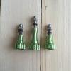TK-GR Knob aluminum สีเขียว