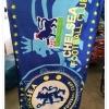 ผ้าเช็ดตัวไมโครไฟเบอร์ ลายทีมฟุตบอล [CF-005] ส่งฟรี
