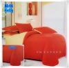 ผ้าปูที่นอนสีพื้น เกรด A สีส้มอิฐ ขนาด 5 ฟุต 5 ชิ้น