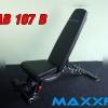 เก้าอี้ยกดัมเบล MAXXFiT รุ่น AB107 B (Commercial Grade)