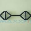 ขาย T-Grip Barbell ขนาด 2 นิ้ว ยาว 1.5 M. หรือ 60 นิ้ว สีดำ