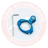 1136-BU Bike Aluminium Mount สีแดง