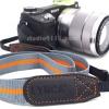 Lynca Camera Strap รุ่น LA-401 สายคล้องกล้อง คุณภาพดี สีเทาส้ม จาก Lynca