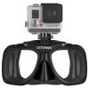Octomask รุ่น Standard Black เป็นหน้ากากดำน้ำเลนส์คู่สำหรับกล้อง GoPro Hero4,Hero3+,Hero3,Hero2