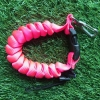 Cetacea Housing Heavy Duty Coiled Lanyard Pink สีชมพู