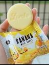 สบู่นมกล้วย ลามิ Banana Milk Honey Natural Soap
