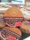 สครับเจลกาแฟ (Coffee Jelly Scrub Soap By Noomham)