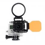 ชุด Flip3.1 Dive Filter กับ Macromate Mini 55mm Combo สำหรับกล้อง GoPro Hero4,Hero3+,Hero3