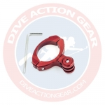 1136-RD Bike Aluminium Mount สีแดง