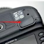 ยางปิดช่องเชื่อมต่อด้านล่าง ของกล้อง canon 40D 50D 7D 5D Mark II