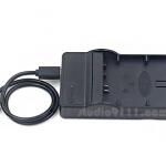 แท่นชาร์จแบตเตอรี่ USB สำหรับ CANON LP-E12