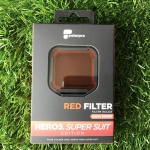POLARPRO RED FILTER GOPRO HERO5 สำหรับใส่ HOUSING SUPER SUIT - Red Filter แก้ไขสีใต้น้ำสำหรับน้ำลึก 15 to 75 feet สำเนา