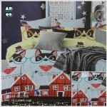 ผ้าปูที่นอน 6 ฟุต(5 ชิ้น) เกรดพรีเมี่ยม[AP-09]