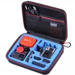 G160S-BK-BL SmaCase G160S รุ่นใหม่ EVA foam สีดำ-น้ำเงิน สำหรับใส่กล้อง GoPro Hero5, Hero4,Hero3+,Hero3,Hero2