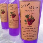 Grape AHA White Body Serum (สีม่วง) By Jolie Blink