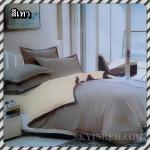 ผ้าปูที่นอนสีพื้น เกรด A สีเทา ขนาด 5 ฟุต 5 ชิ้น