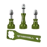 Freewell Thumb knob & Wrench tool Aluminium สีเขียว
