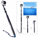 "ไม้ selfie Smatree® SmaPole S3 Aluminum Detachable and Extendable Floating Pole (12.5""-39.5"") for GoPro Hero 5/4/3+/3/2/1; Made of High Quality Aluminium"